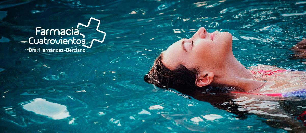 La natación es un ejercicio estrella