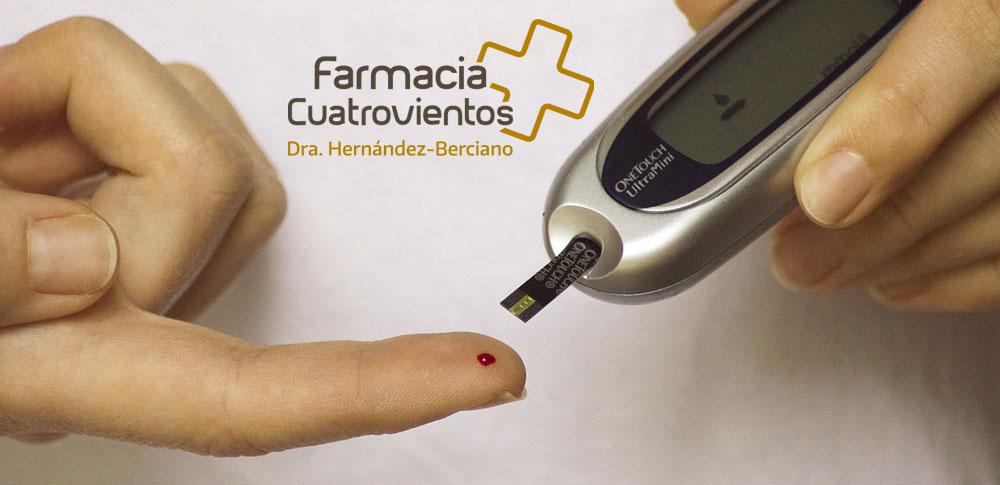 Diabetes o exceso de glucosa en sangre