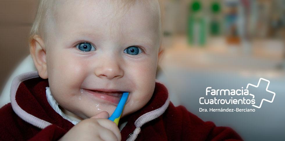 Salud bucal infantil Farmacia Cuatrovientos
