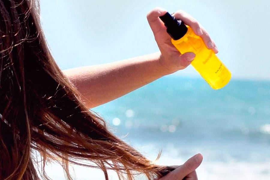 Protege el cabello en verano