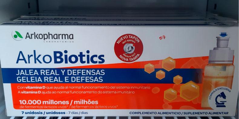 Jalea real y probióticos Arkopharma