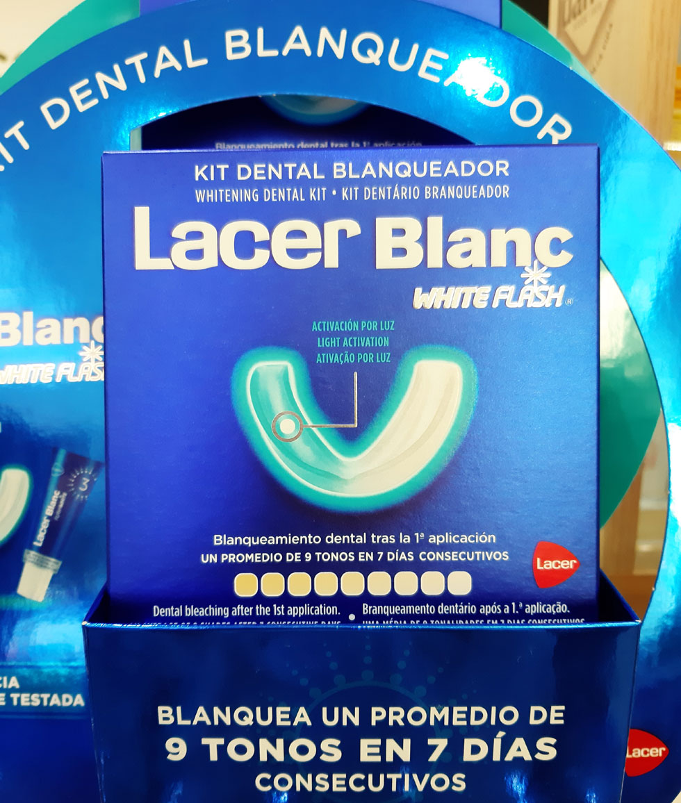 LACERBLANC WHITE FLASH