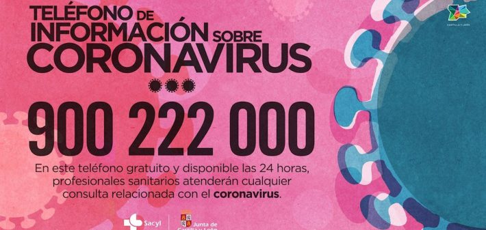 Teléfono atención coronavirus